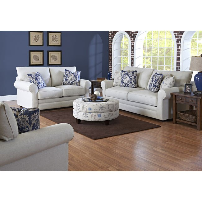 Comfy Living Room Set (Studio Natural) Klaussner