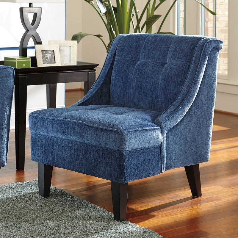 Cerdic Azure Accent Chair Signature Design By Ashley