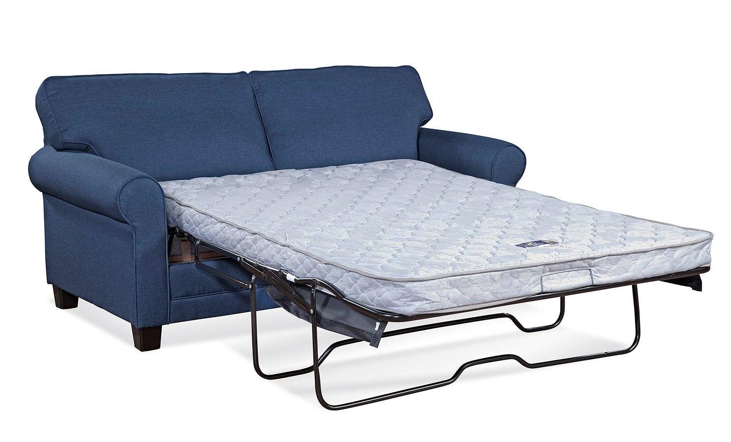 - 3700 Series Jitterbug Denim Sleeper Hughes Furniture Furniture Cart