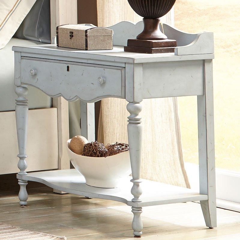 Newport Night Table (Monaco Blue)