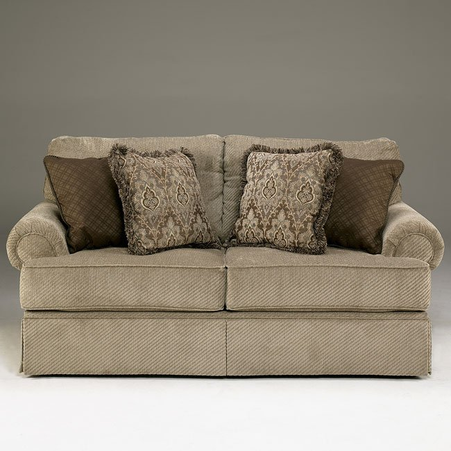 Sheffield - Platinum Loveseat