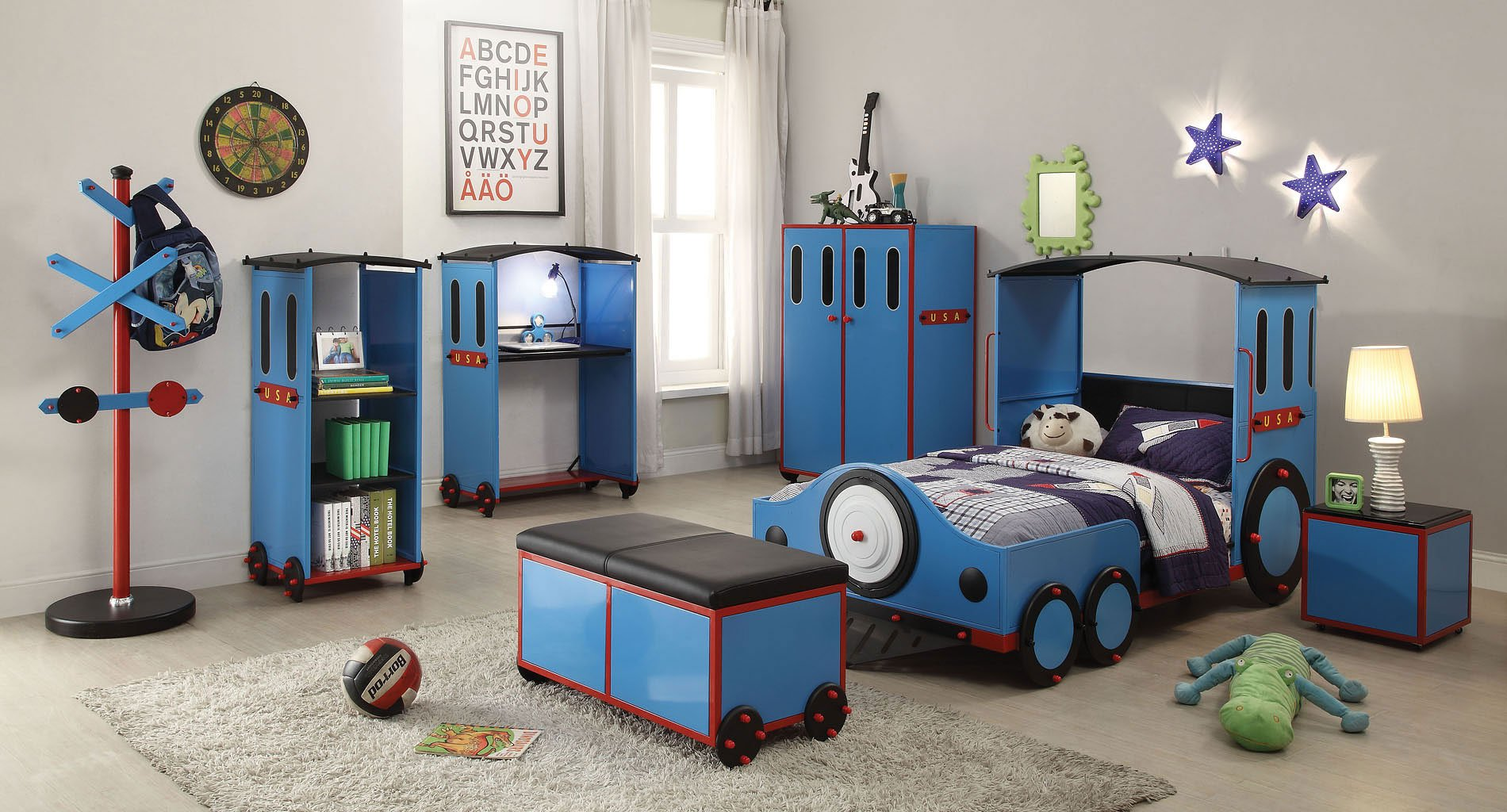 Tobi Train Bedroom Set