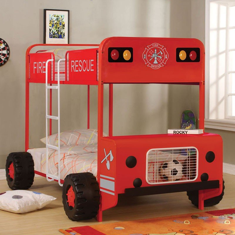 Jackson Fire Truck Bunk Bed Acme Furniture Furniture Cart