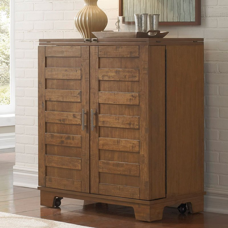 Pebble Creek I Wine Cabinet