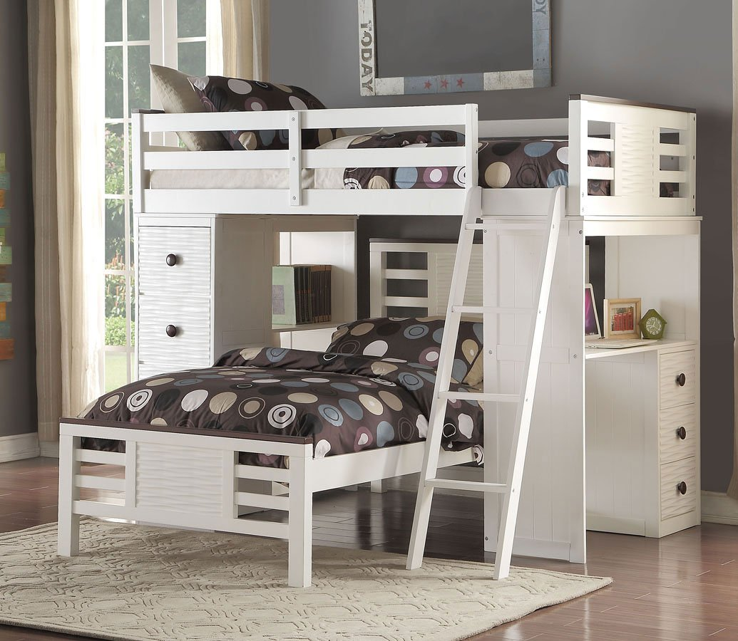 Florrie Youth Twin Loft Bed