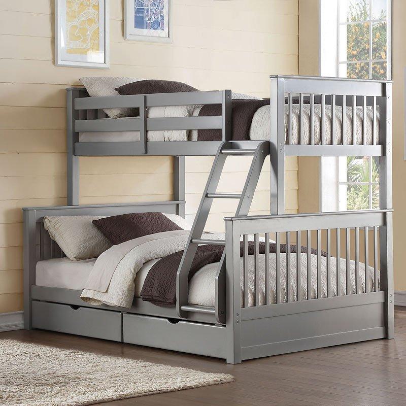 Haley II Twin over Full Bunk Bed