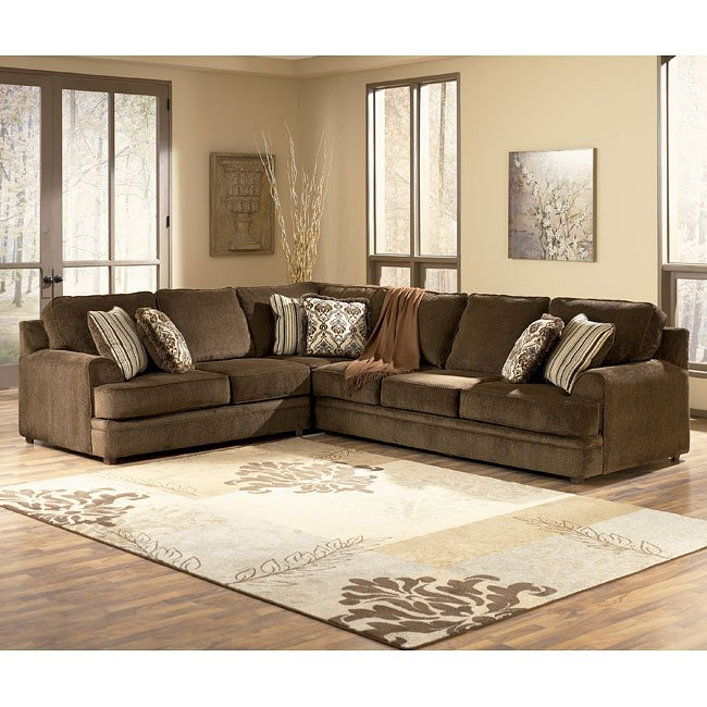 Connally - Chocolate Right Sofa Sectional