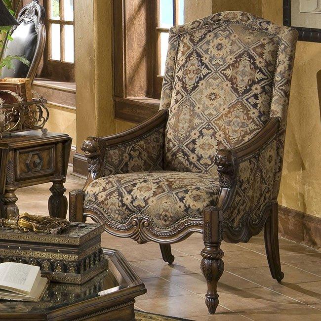 Vizcaya Leather Living Room Set Aico Furniture