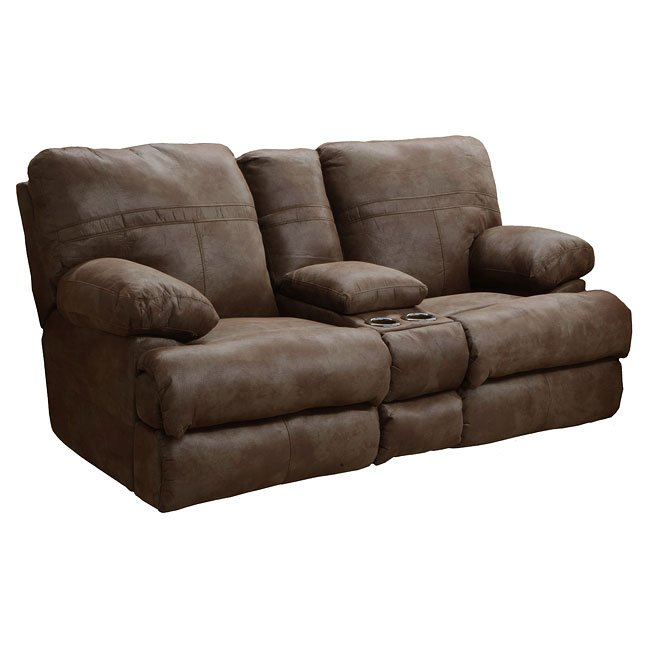 Ranger Reclining Loveseat W Console Tanner Catnapper