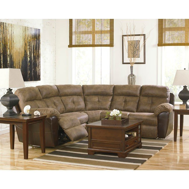Hewson Earth Reclining Sectional