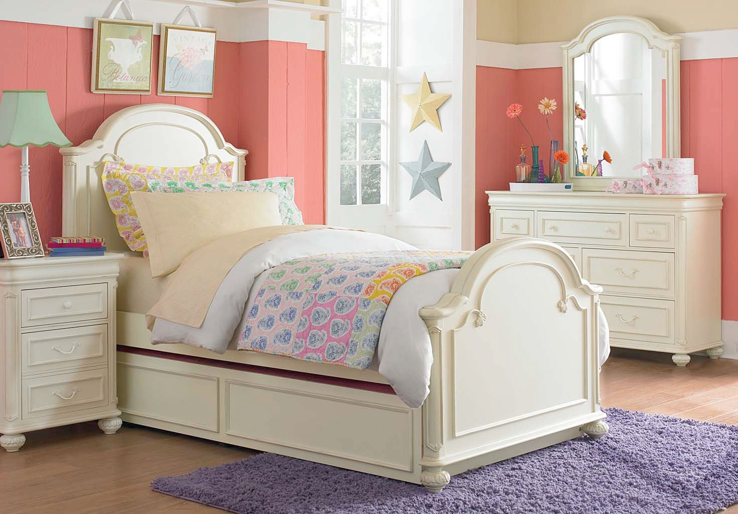 charlotte arched panel bedroom set legacy classic kids, 1