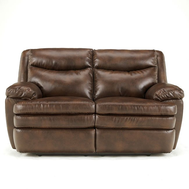 Slater DuraBlend - Sedona Reclining Loveseat w/ Power