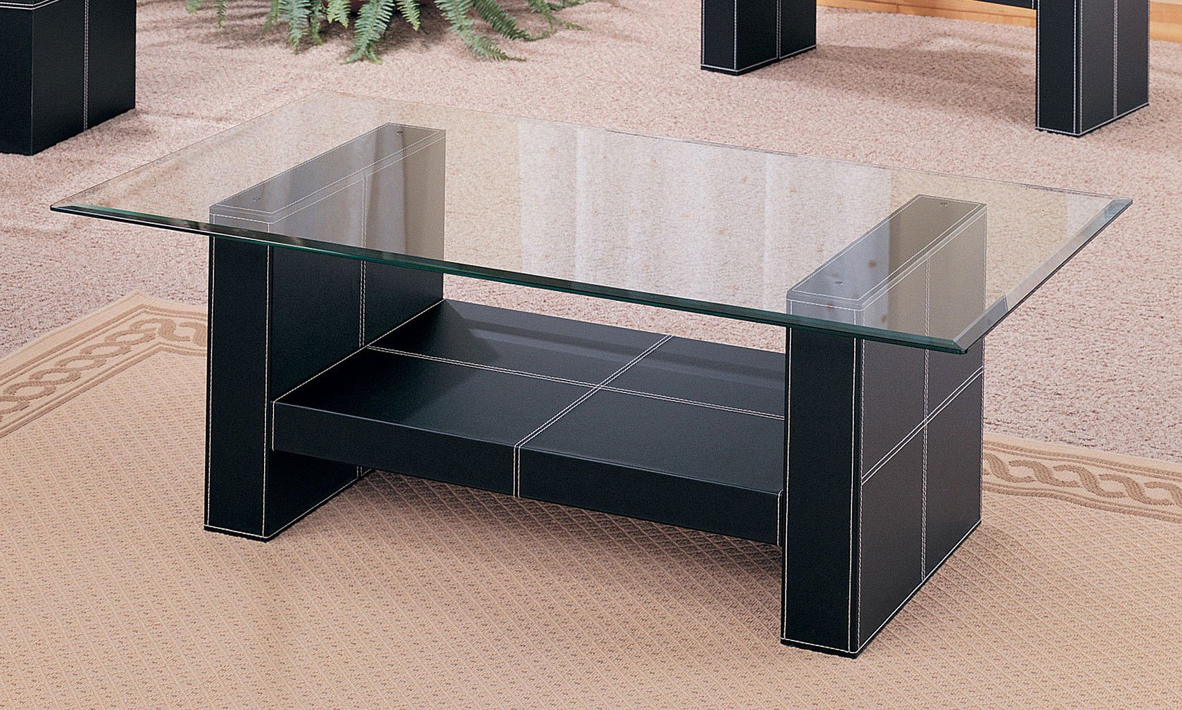 Williams Bonded Leather Coffee Table