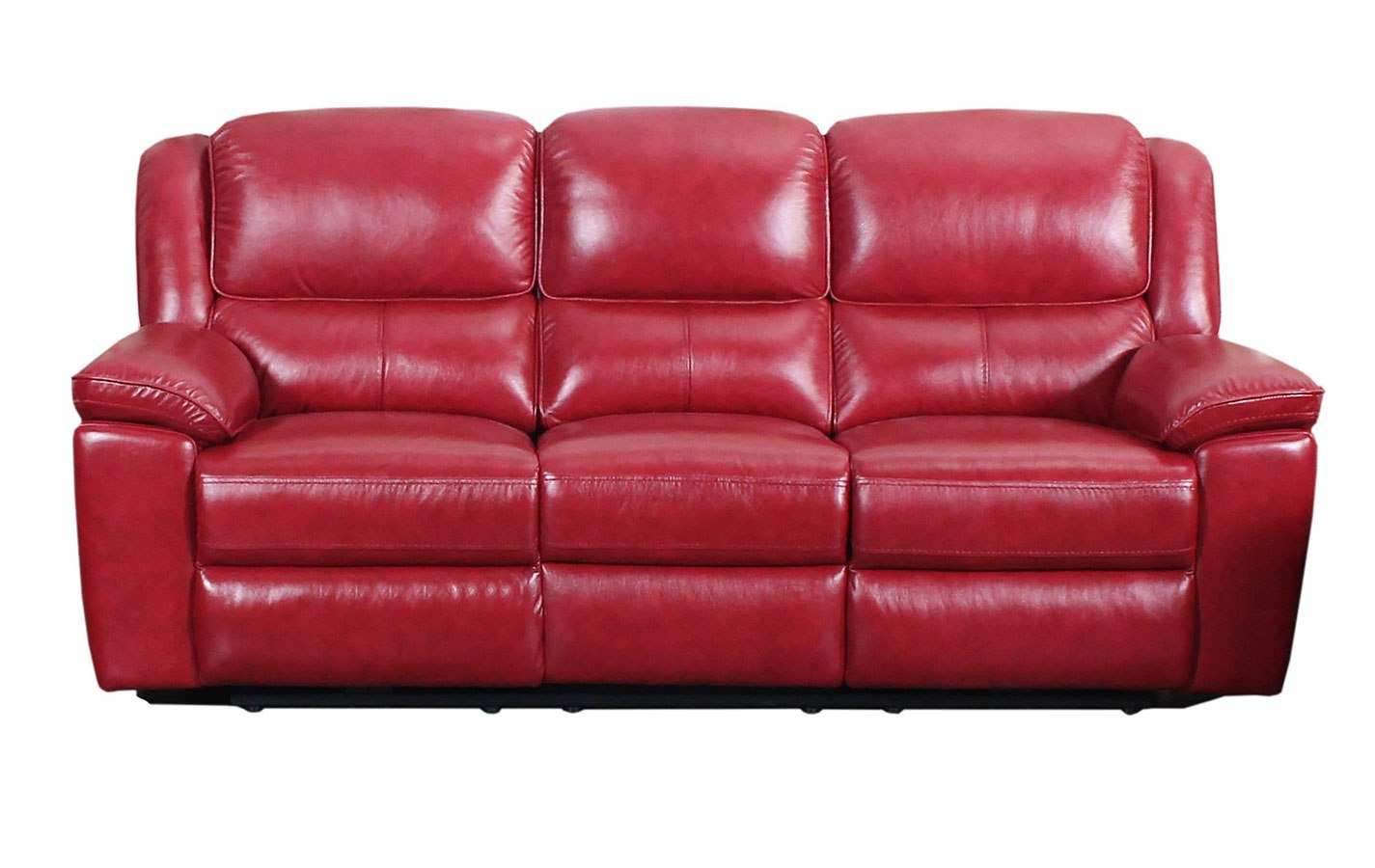 Laguna Power Reclining Sofa (Red)