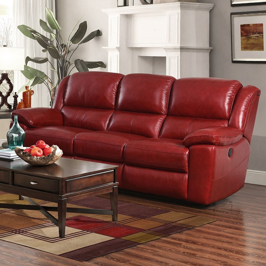 Groovy Laguna Power Reclining Sofa Red Caraccident5 Cool Chair Designs And Ideas Caraccident5Info