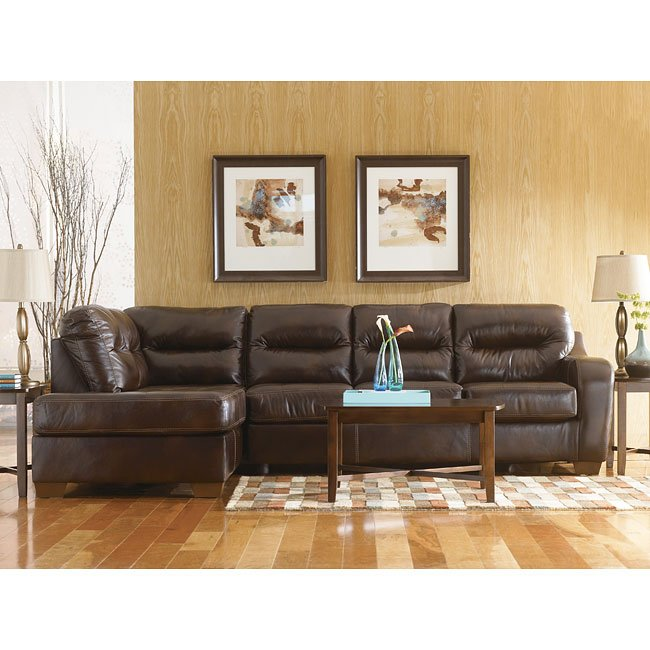 Alex - Chocolate Sectional Living Room Set