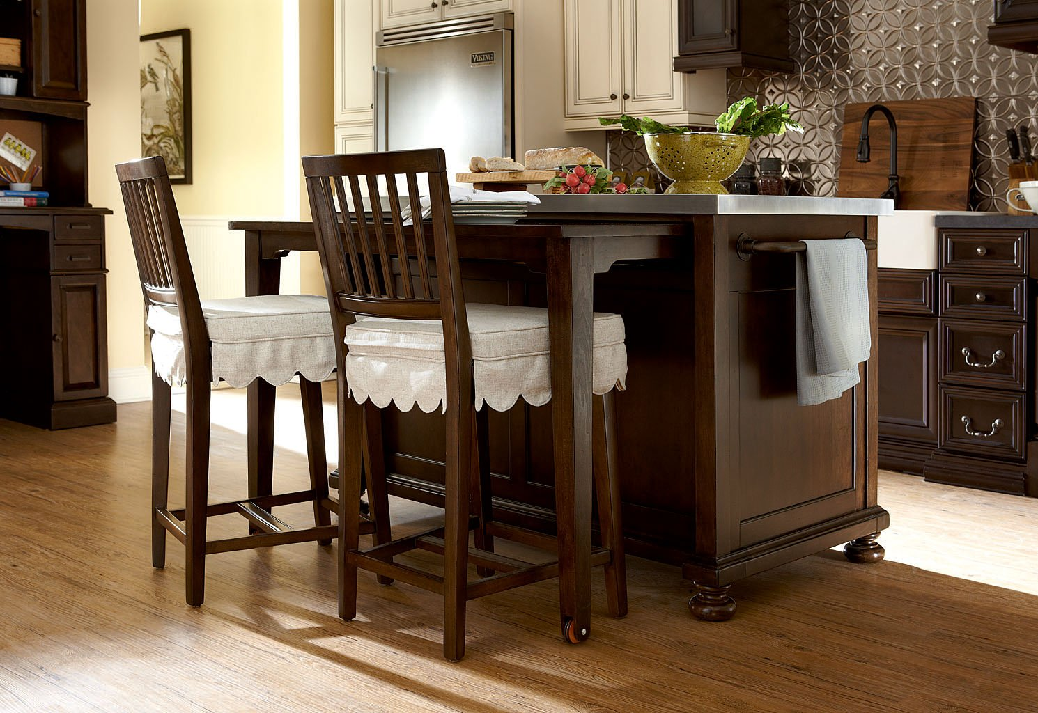 River House Kitchen Island Set (River Bank)
