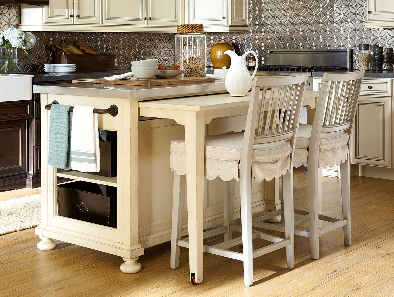 Attrayant River House Kitchen Island Set (River Boat)