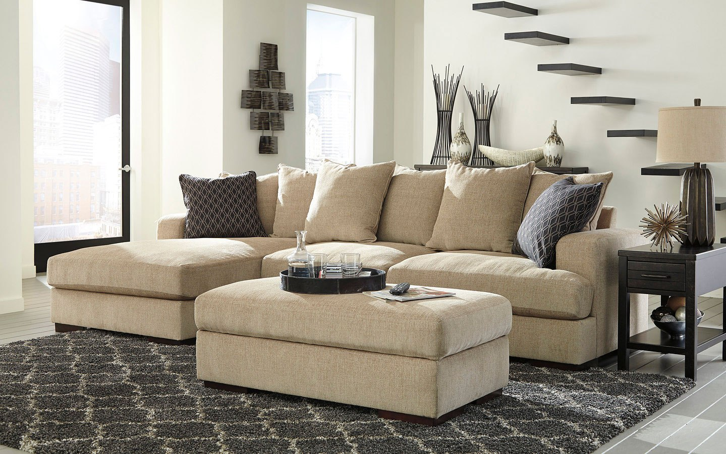 Aquaria Barley Sectional Set