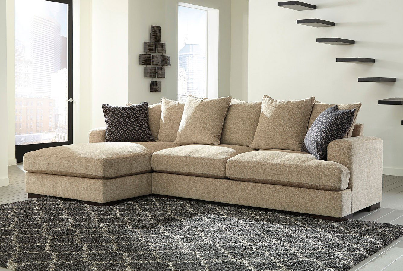 Aquaria Barley Left Chaise Sectional