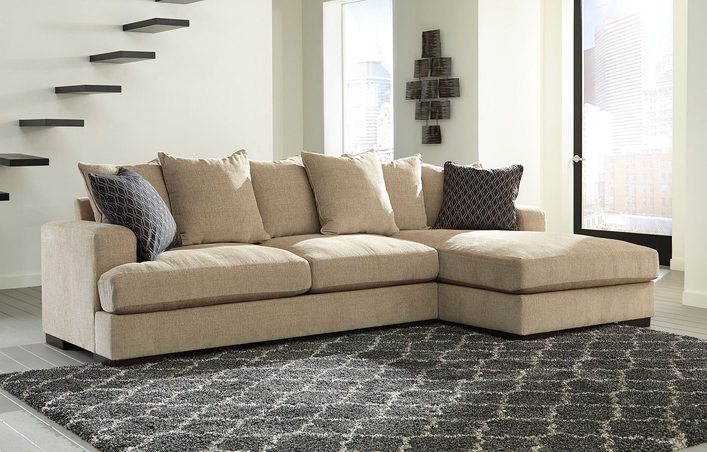 Aquaria Barley Right Chaise Sectional
