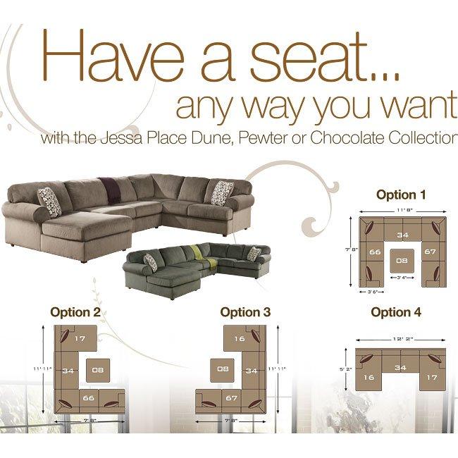 Amazing Jessa Place Dune Modular Sectional Alphanode Cool Chair Designs And Ideas Alphanodeonline