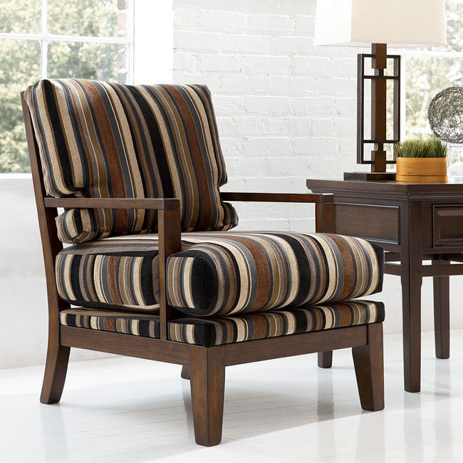 Sofa Mart Accent Chairs: Walnut Showood Accent Chair Millennium