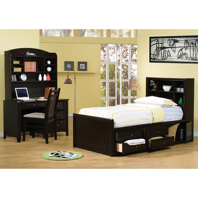Phoenix Youth Storage Bedroom Set
