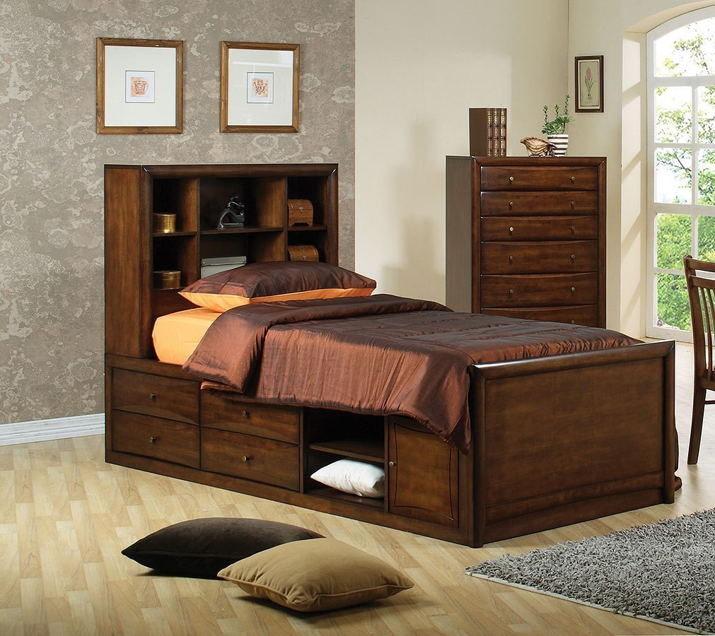 Hillary Youth Bookcase Bedroom Set Coaster Furniture Furniture Cart