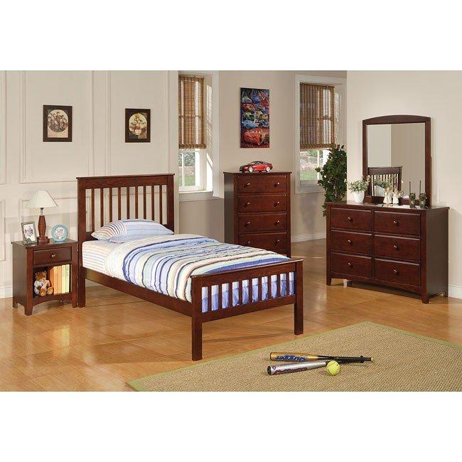 Parker Slat Bedroom Set