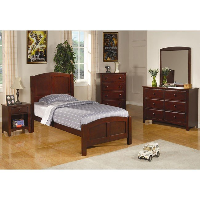 Parker Panel Bedroom Set