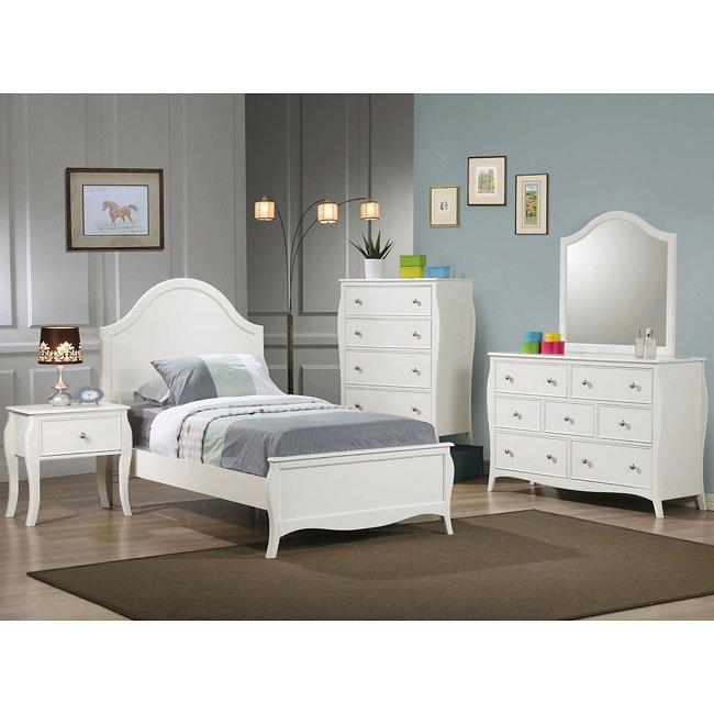 Dominique Youth Bedroom Set Coaster Furniture Furniture Cart
