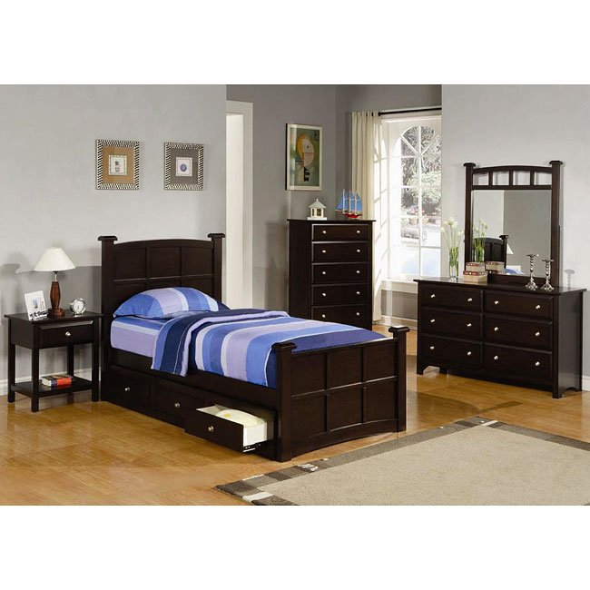 Jasper Youth Panel Bedroom Set Coaster Furniture