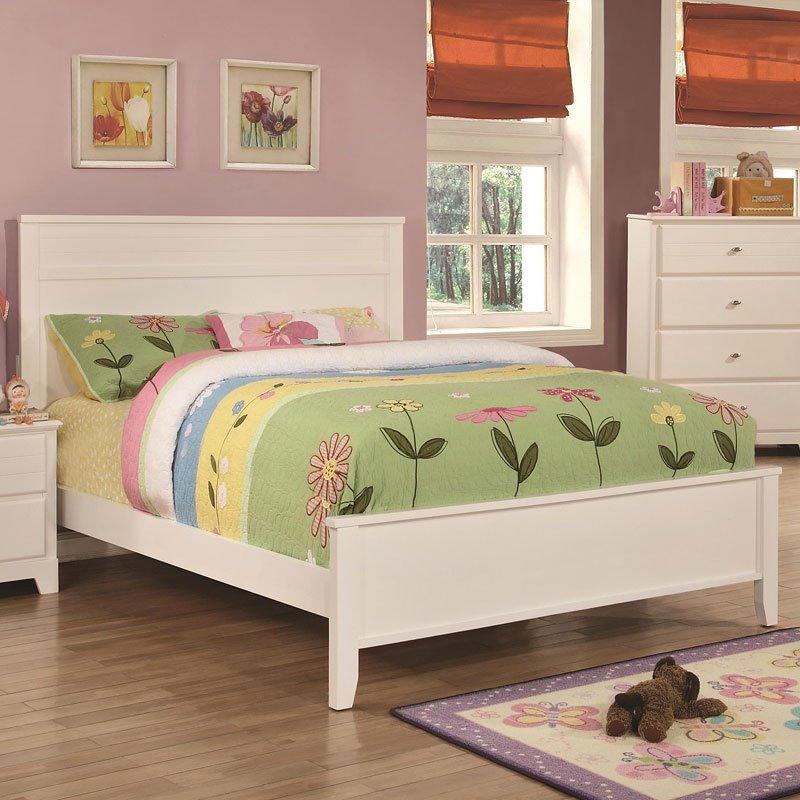 Ashton youth bedroom set white coaster furniture furniture cart for Ashton castle bedroom set by ashley