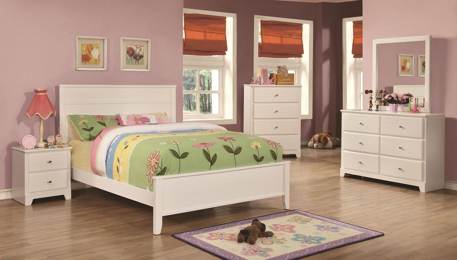 Ashton Youth Bedroom Set White Coaster Furniture