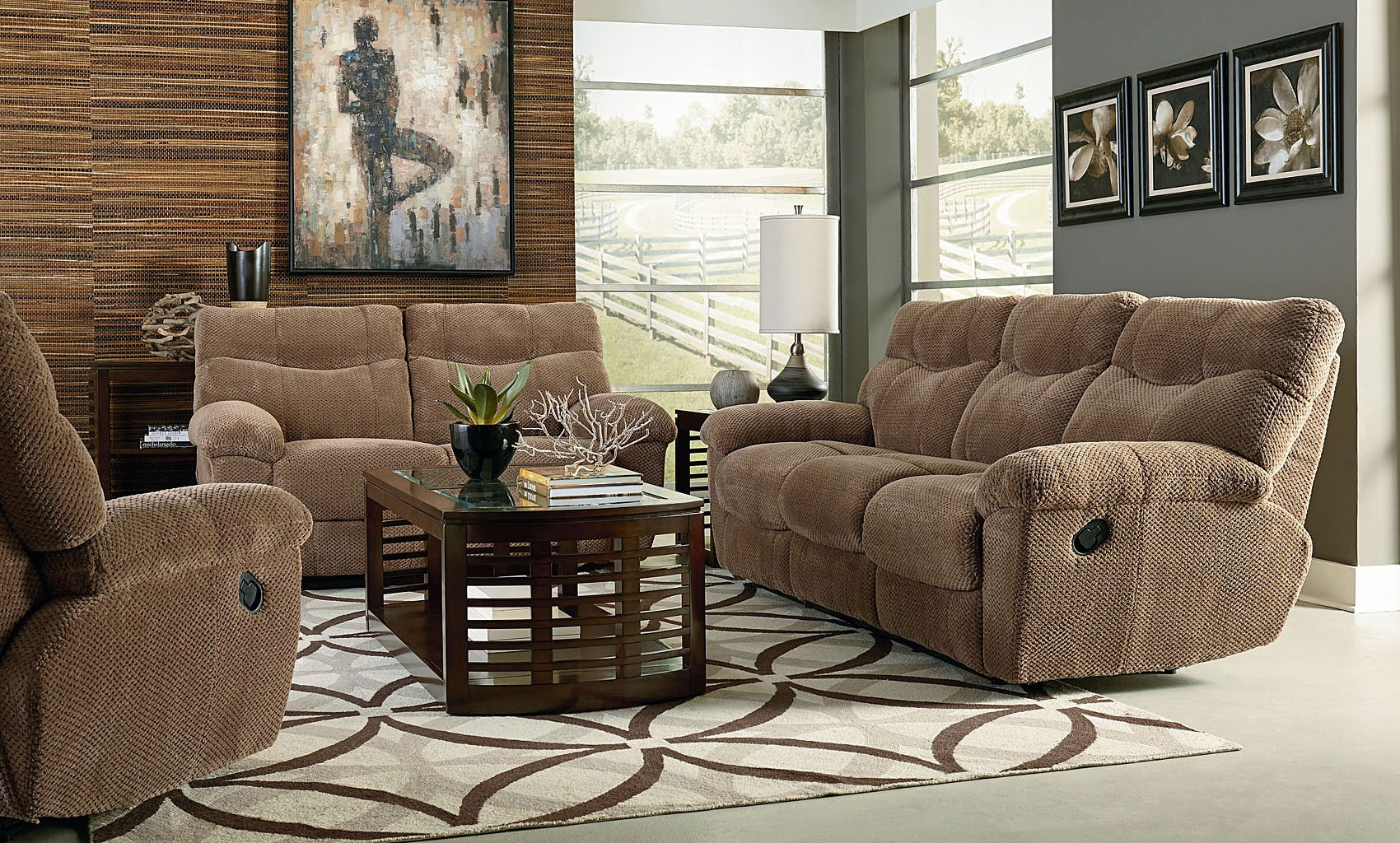 Escapade Reclining Living Room Set