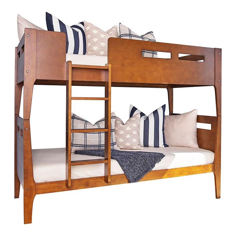 Patio Furniture Livermore Ca: Livermore Twin Over Twin Bunk Bed Coaster Furniture