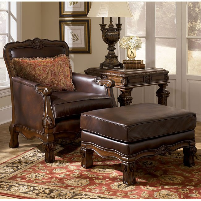 oakmere  truffle living room set signature design 1