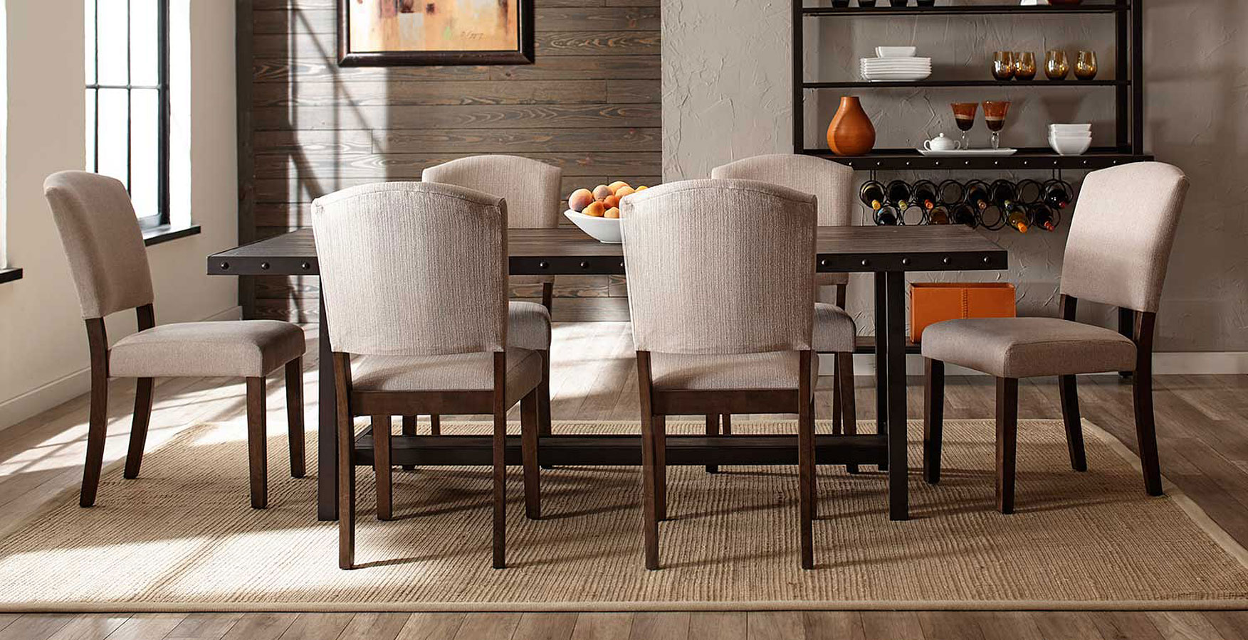 Fabulous Jennings Rectangular Dining Room Set W Emerson Chairs Pdpeps Interior Chair Design Pdpepsorg