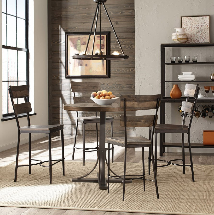 Jennings 9 Inch Round Counter Height Dining Set