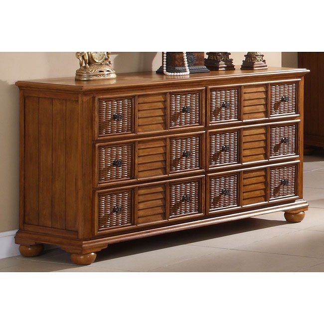 Nautical Breeze Dresser (Brown)