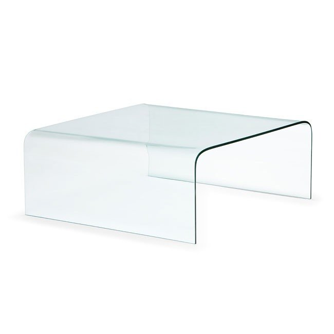 Sojourn Coffee Table (Tempered Glass) Zuo Modern