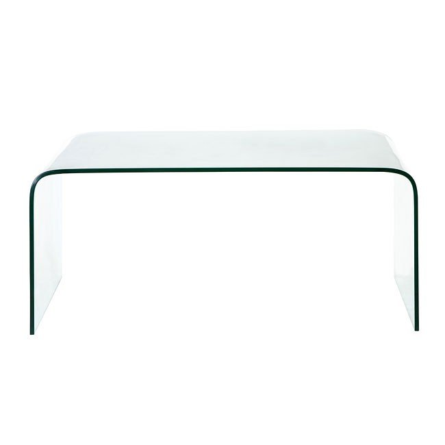Sojourn Coffee Table (Tempered Glass)