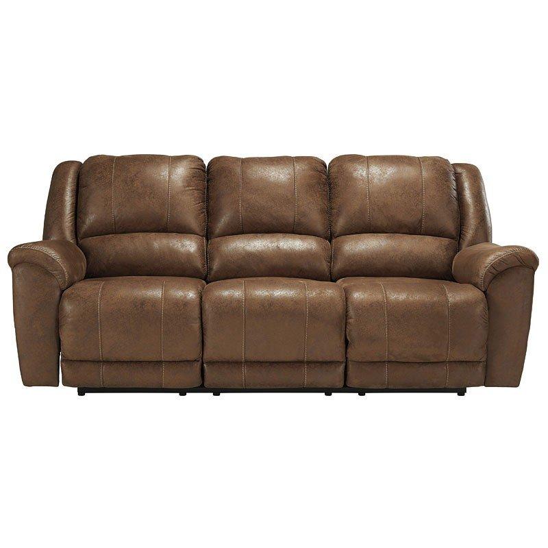 Niarobi Saddle Reclining Sofa Benchcraft Furniture Cart