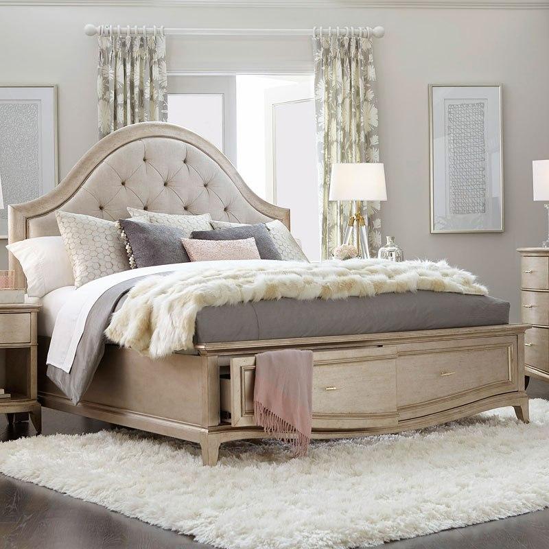 Superbe Starlite Upholstered Storage Bed
