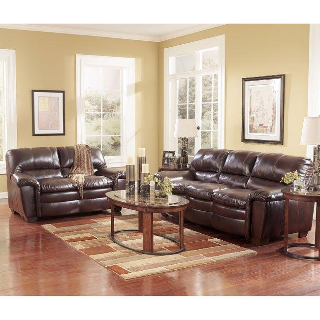 Premier DuraBlend - Redwood Living Room Set