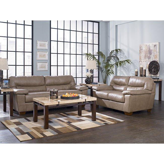 Colefax - Mushroom Living Room Set
