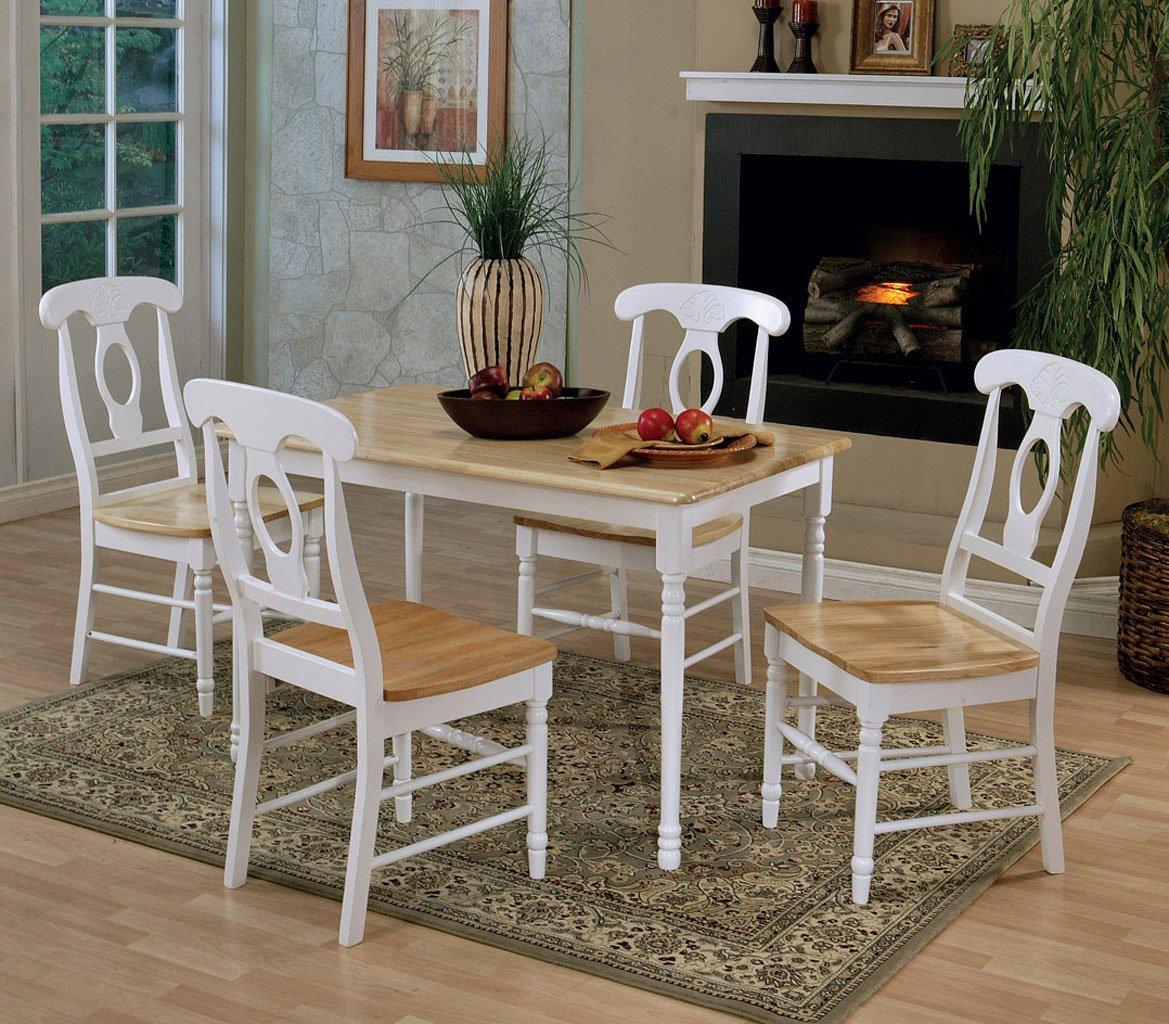 Damen Rectangular Dining Room Set W/ Napoleon Chairs