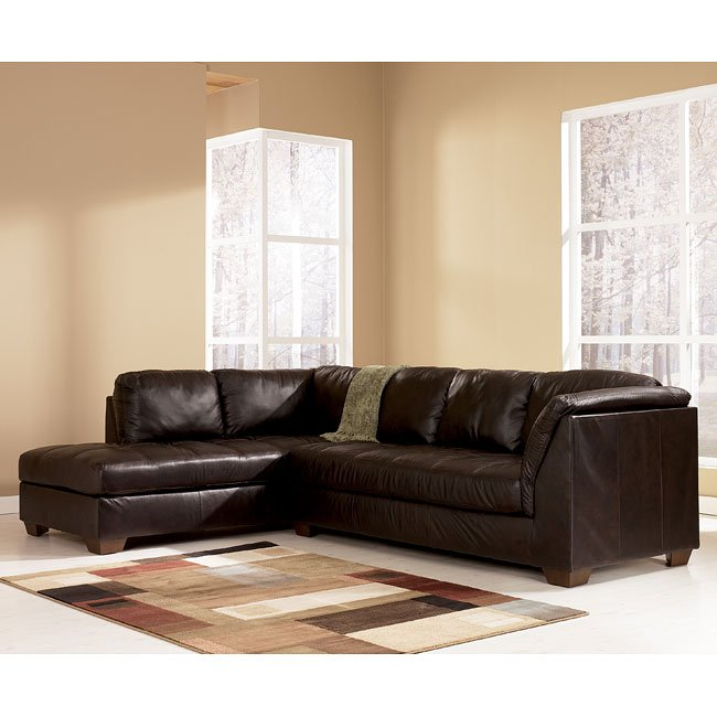 Harrington - Chocolate Left Chaise Sectional