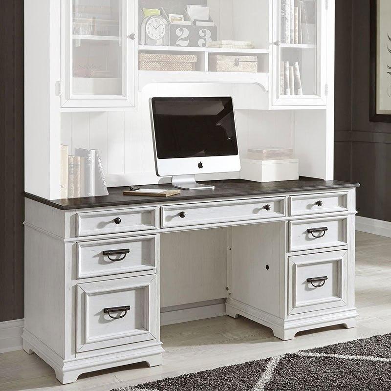 Allyson Park Jr Executive Home Office Set Liberty